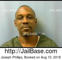 JOSEPH PHILLIPS mugshot picture