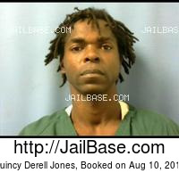 QUINCY DERELL JONES mugshot picture
