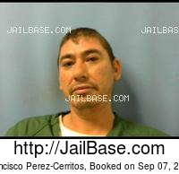 FRANCISCO PEREZ-CERRITOS mugshot picture