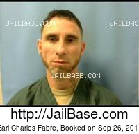 EARL CHARLES FABRE mugshot picture
