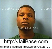 TRIS EVANS MADISON mugshot picture