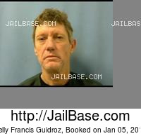 KELLY FRANCIS GUIDROZ mugshot picture