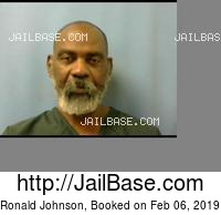 RONALD JOHNSON mugshot picture