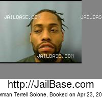 HERMAN TERRELL SOLONE mugshot picture