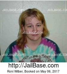 Roni Wilber mugshot picture