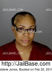 Valerie Jones mugshot picture