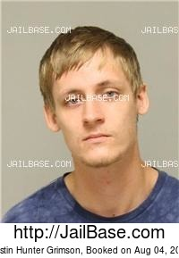 DUSTIN HUNTER GRIMSON mugshot picture