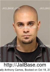 BRADLY ANTHONY CARNES mugshot picture