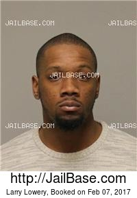 LARRY LOWERY mugshot picture