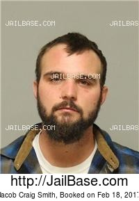 JACOB CRAIG SMITH mugshot picture