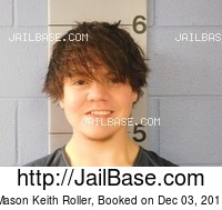 MASON KEITH ROLLER mugshot picture