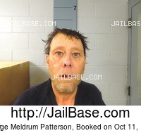 GEORGE MELDRUM PATTERSON mugshot picture