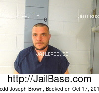 TODD JOSEPH BROWN mugshot picture