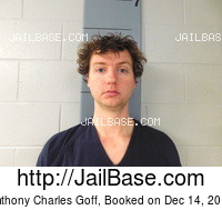 ANTHONY CHARLES GOFF mugshot picture