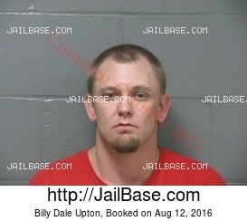 BILLY DALE UPTON mugshot picture