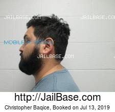 Christopher Baqice mugshot picture