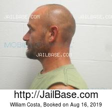 William Costa mugshot picture
