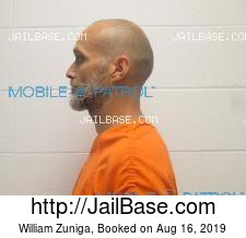 William Zuniga mugshot picture