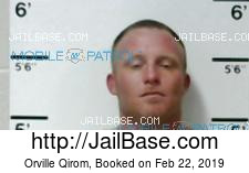 Orville Qirom mugshot picture