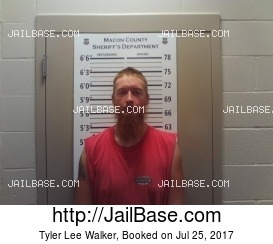 TYLER LEE WALKER mugshot picture