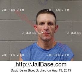 David Dean Bice mugshot picture