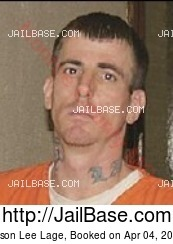 Jason Lee Lage mugshot picture