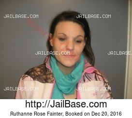 Ruthanne Rose Fainter mugshot picture