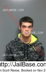 Christian Scott Reese mugshot picture