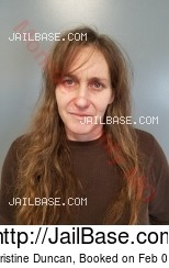 Amy Christine Duncan mugshot picture