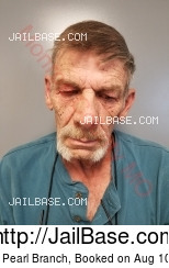 Robert Pearl Branch mugshot picture
