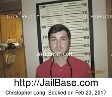 Christopher Long mugshot picture