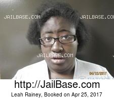 Leah Rainey mugshot picture