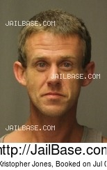 SHAWN KRISTOPHER JONES mugshot picture
