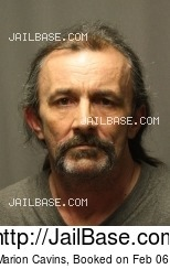 PAUL MARION CAVINS mugshot picture