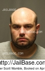 CHRISTOPHER SCOTT WAMBLE mugshot picture