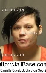 BRITTANY DANIELLE DUVEL mugshot picture