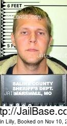 Dustin Lilly mugshot picture
