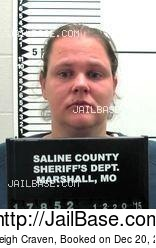 Ashleigh Craven mugshot picture