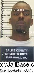 Kevin Gray mugshot picture