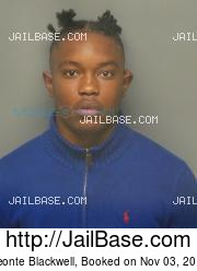 Deonte Blackwell mugshot picture