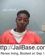 CHASITY RENEE IRVING mugshot picture