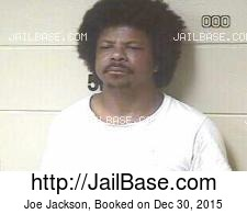 Joe Jackson mugshot picture