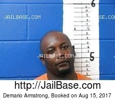 Demario Armstrong mugshot picture