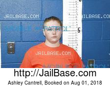 Ashley Cantrell mugshot picture