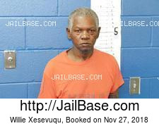Willie Xesevuqu mugshot picture