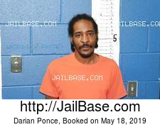 Darian Ponce mugshot picture