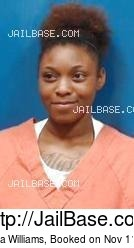 Treanna Williams mugshot picture