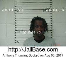 Anthony Thurman mugshot picture
