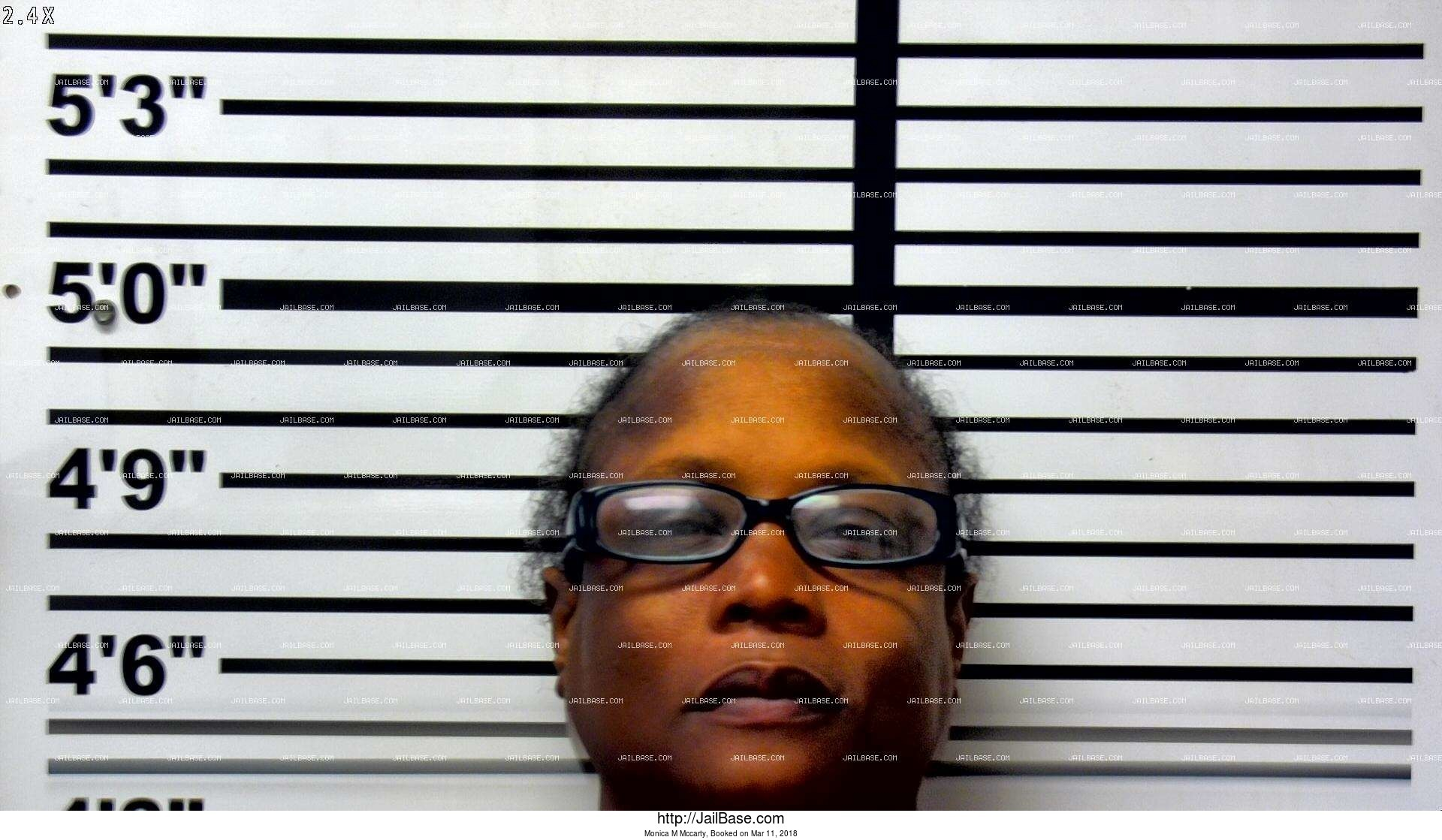 monica m mccarty mugshot picture