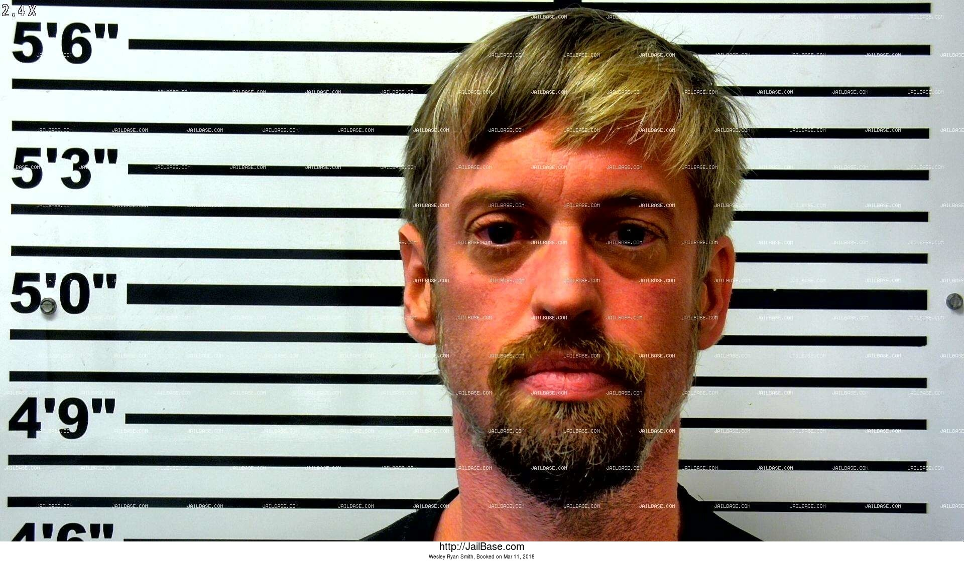 wesley ryan smith mugshot picture